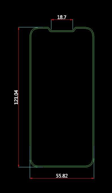 iphone se cad 2018 - Podľa výrobcu obalov bude mať iPhone SE 2 obrovský displej s výrezom na kameru