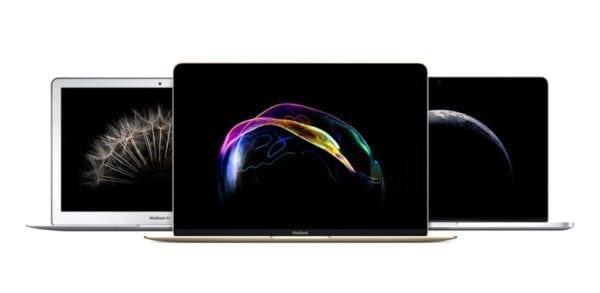 macbook air macbook pro lineup devices 1 600x293 - Nový MacBook ponúkne Intel Kaby Lake procesor, iPad Pro zas USB-C nabíjačku