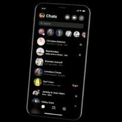 new Messenger dark mode 240x240 - Facebook Messenger dostane zjednodušené rozhranie, tmavú tému a ďalšie novinky