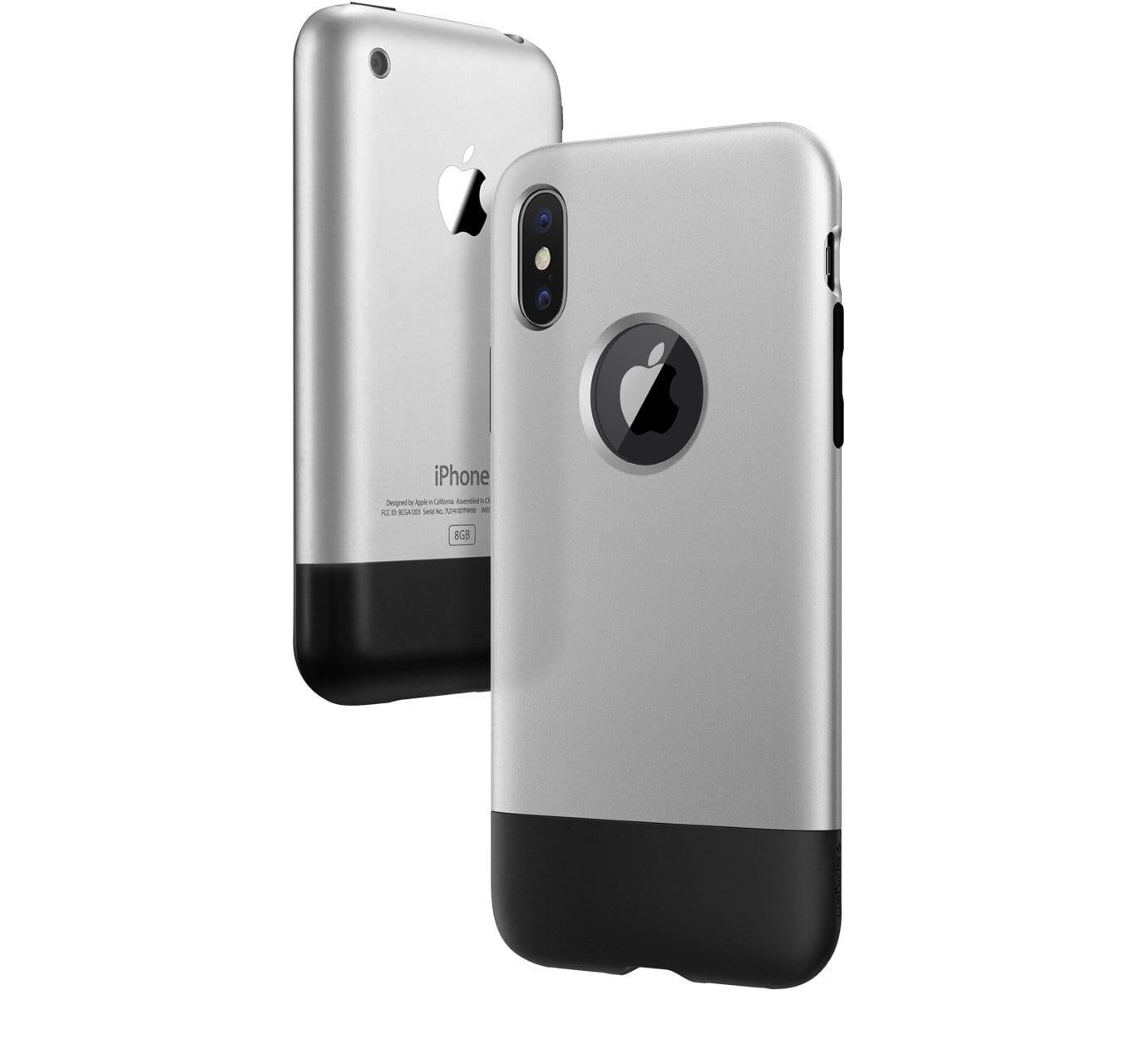 spigen iphone x classic one overview - Spigen predstavil sériu retro obalov pre iPhone X