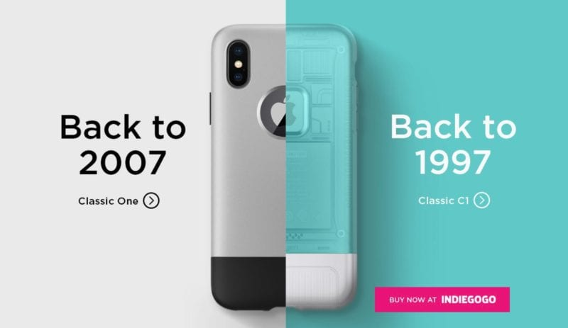 spigen retro cases iphone x 800x463 - Spigen predstavil sériu retro obalov pre iPhone X