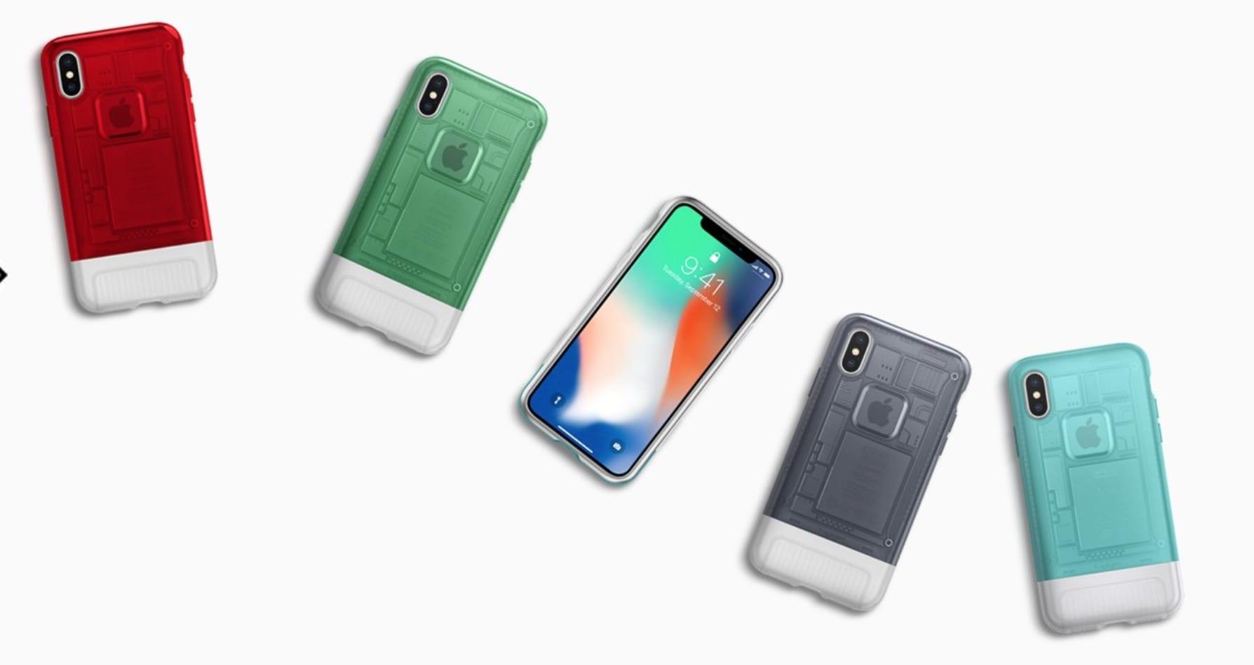 spigen retro cases iphone x colors - Spigen predstavil sériu retro obalov pre iPhone X