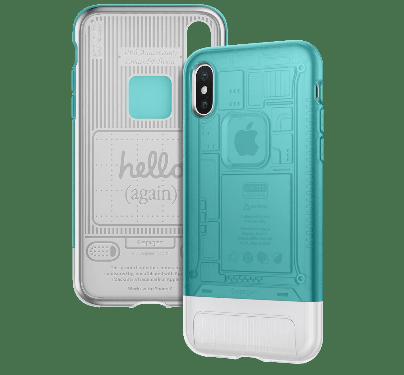 spigen retro imac case iphone x - Spigen predstavil sériu retro obalov pre iPhone X