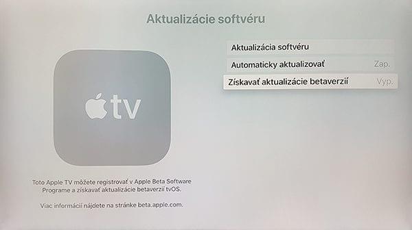 Apple TV Beta Program