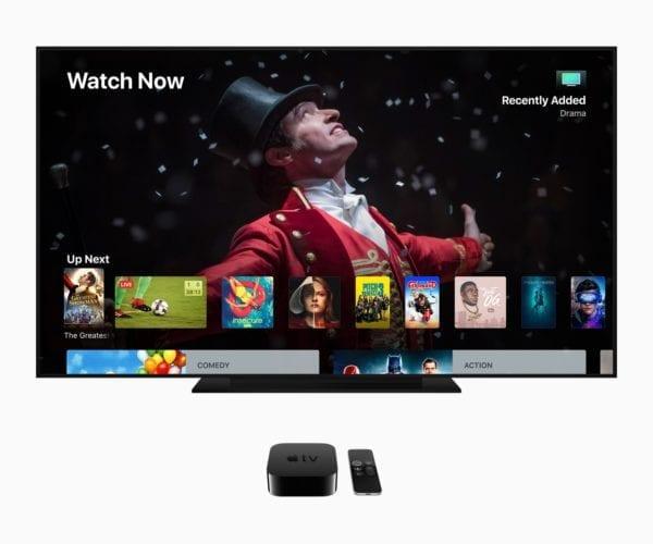 Apple TV 4k screen 06042018 600x500 - Apple plánuje veľký streamovací balíček s hudbou, magazínmi aj video obsahom