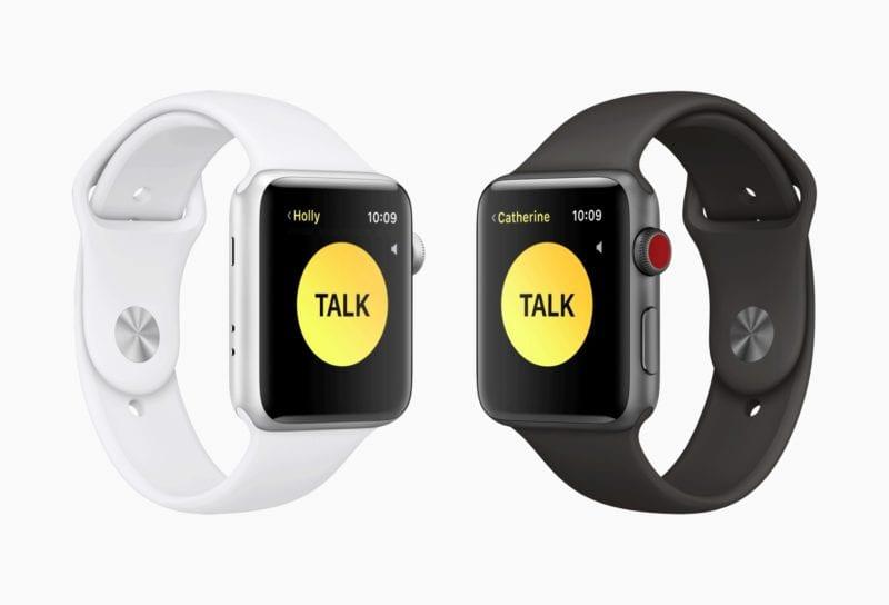 Apple watchOS 5 walkie talkie screen 06042018 800x544 - Druhá beta watchOS 5 je vonku, prináša aplikáciu Walkie-Talkie
