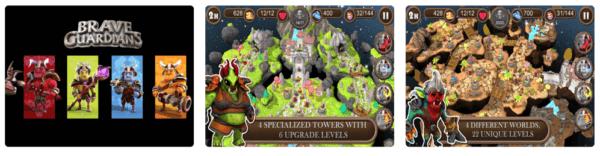 Brave Guardians TD 600x156 - Zlacnené aplikácie pre iPhone/iPad a Mac #5 týždeň