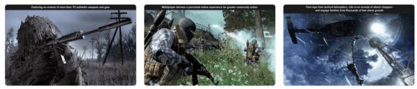 Call of Duty 4 Modern Warfare 600x129 - Zlacnené aplikácie pre iPhone/iPad a Mac #11 týždeň