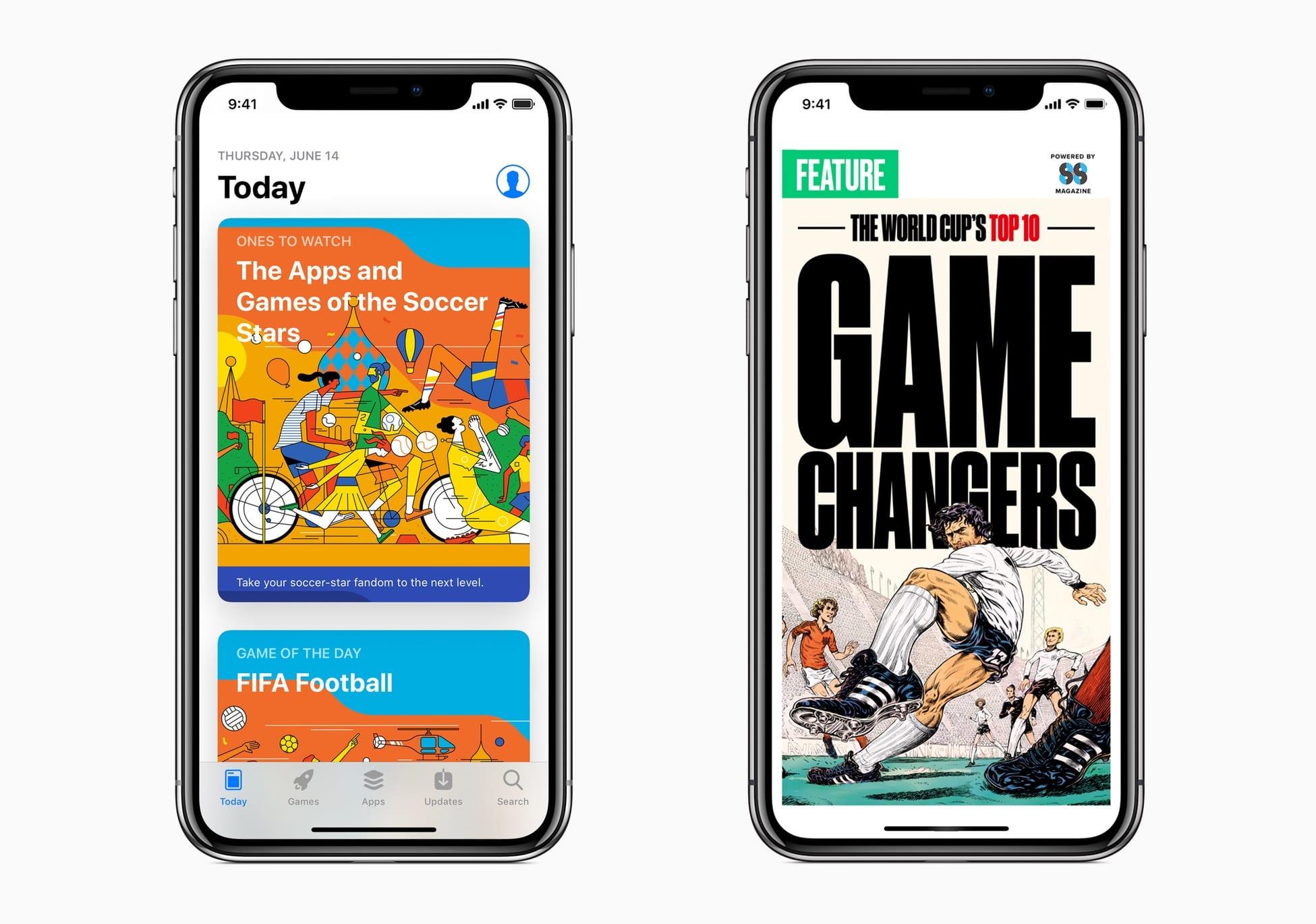 FIFA 2018 Apple app store - Apple je už pripravený na Majstrovstvá vo futbale