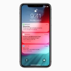 iOS12 Group Notifications 06042018 240x240 - Čo je nové v prvej bete iOS 12.2: podpora smart TV, AirPods 2 a malé dizajnové zmeny