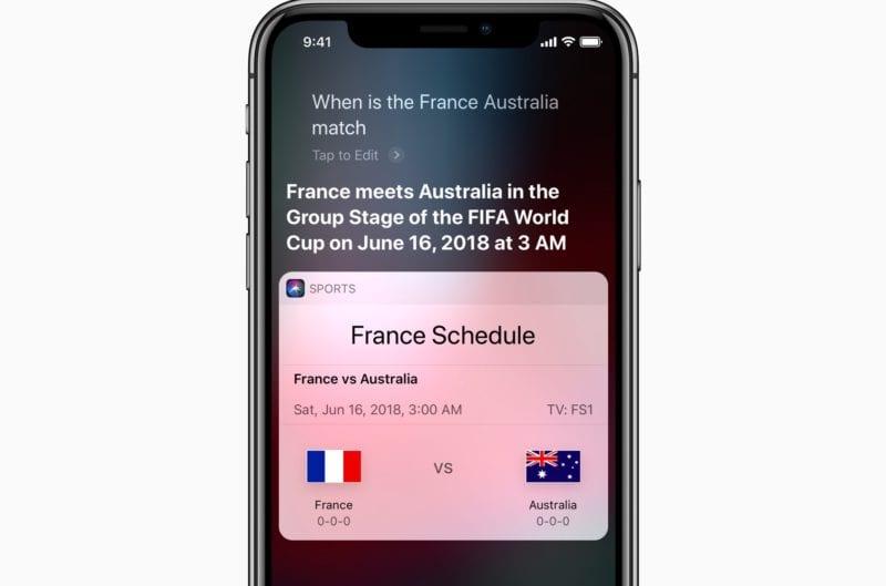 iPhone X Siri World Cup screen 06122018 800x529 - Apple je už pripravený na Majstrovstvá vo futbale