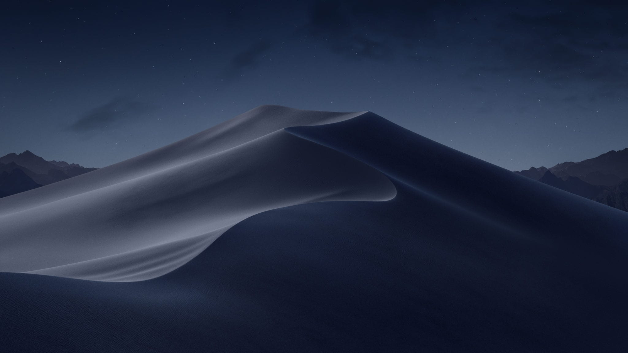 mojave night - Stiahnite si nové pozadia z iOS 12 a macOS Mojave