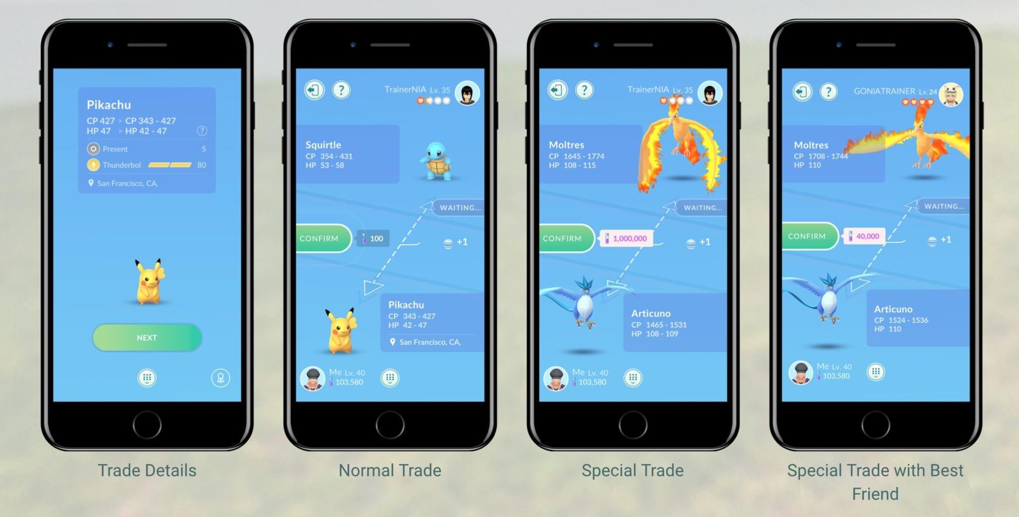 pokémon go trading sstardust