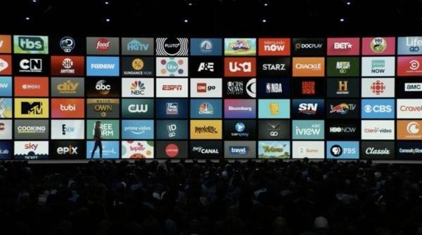 tvOS 12 Television