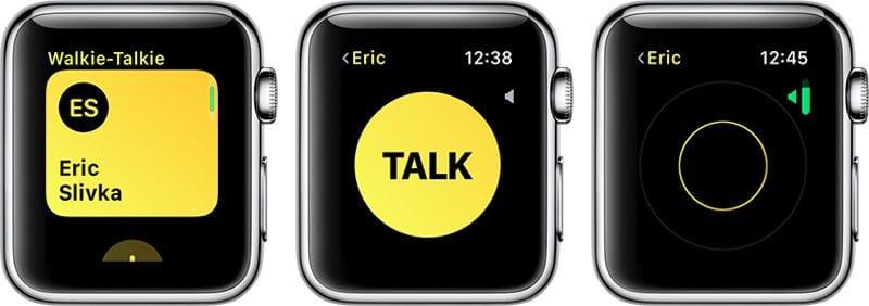 walkietalkieinuse 800x282 - Druhá beta watchOS 5 je vonku, prináša aplikáciu Walkie-Talkie