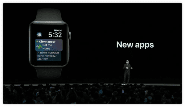 watchOS 5 Siri New apps