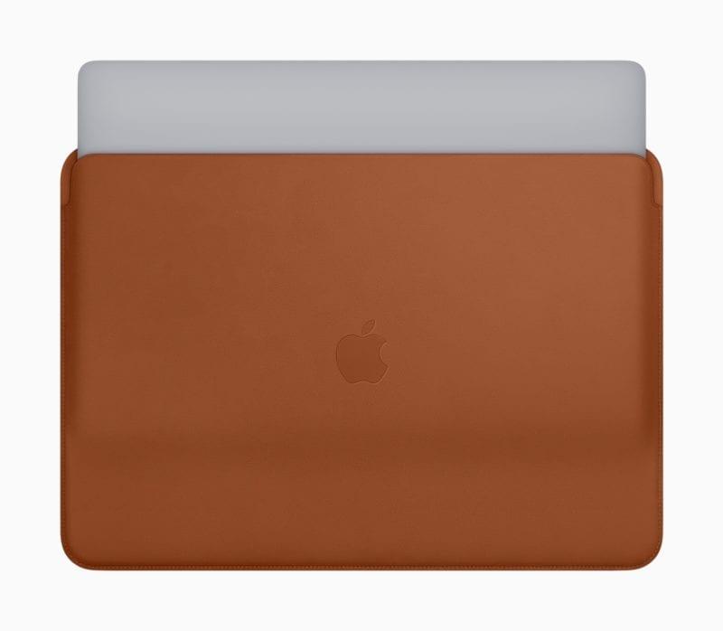 New Apple MacBook Pro Leather Sleeves 07122018 1 800x698 - Dostupné sú nové kožené obaly pre MacBook Pro a MacBook