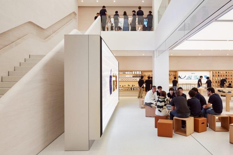NSO Kyoto Today at Apple 08222018 800x533 - Galéria: Pozrite si najnovší Apple Store v centre Kjóta