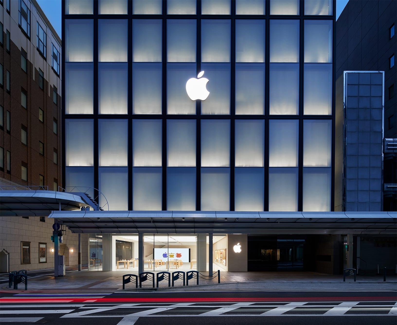 NSO Kyoto exterior store 08222018 - Galéria: Pozrite si najnovší Apple Store v centre Kjóta