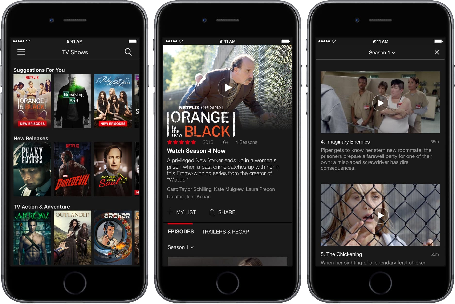 Netflix 8.7 for iOS space gray iPhone screenshot 001 - Netflix nechce, aby ste si ho predplácali cez Apple