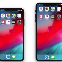 XS Plus Home iPhone 240x240 - iPhone X Plus dostane Landscape mód po vzore iPadu