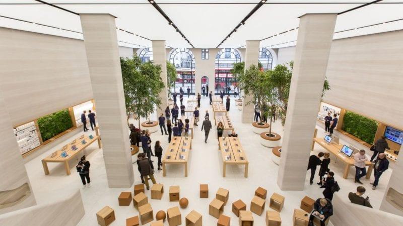 apple store regent street london 6 800x450 - Jak funguje funkce Self Checkout v kamenných prodejnách Apple?