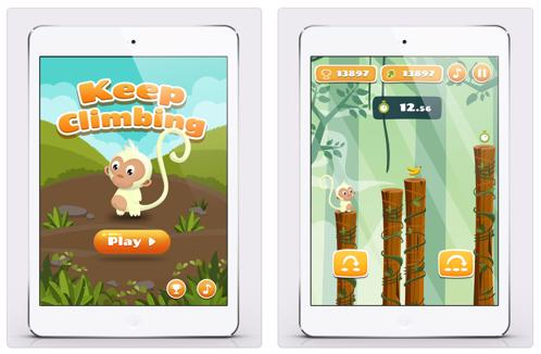 Monkey Jumping - Zlacnené aplikácie pre iPhone/iPad a Mac #36 týždeň