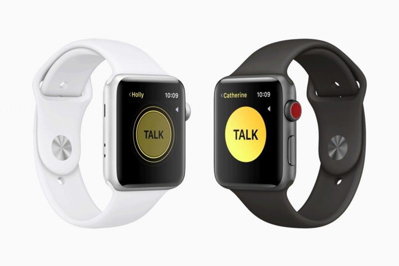 apple watch watchos5 walkie 800x534 - watchOS 5 prináša Walkie-Talkie, Podcasty, nové ciferníky a ďalšie novinky