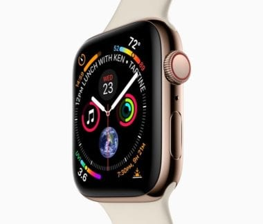 applewatchseries4leakedimage 380x325 - Apple predstavil redesignované Apple Watch Series 4 s EKG