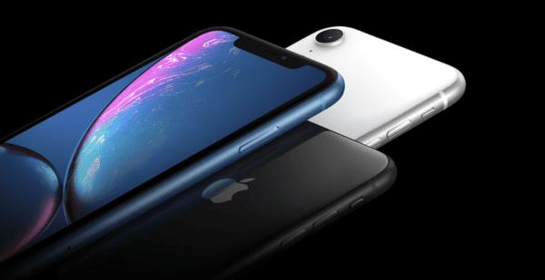 iPhone XR Header
