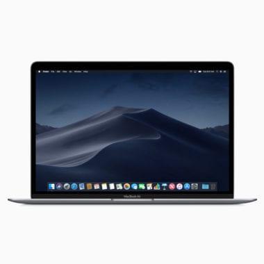 MacBook Air macOS Mojave 10302018 380x380 - Apple vyzdvihol recenzie na nový MacBook Air a Mac mini