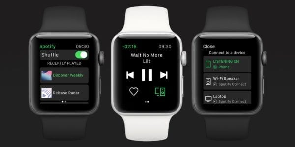 Apple Watch 20181113141043  e3750ace 600x300 - Spotify už budúci týždeň zamieri na Apple Watch
