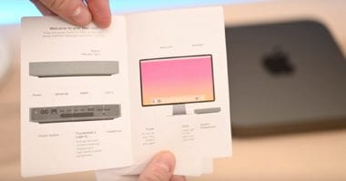 Mac mini 2018 Start Guide