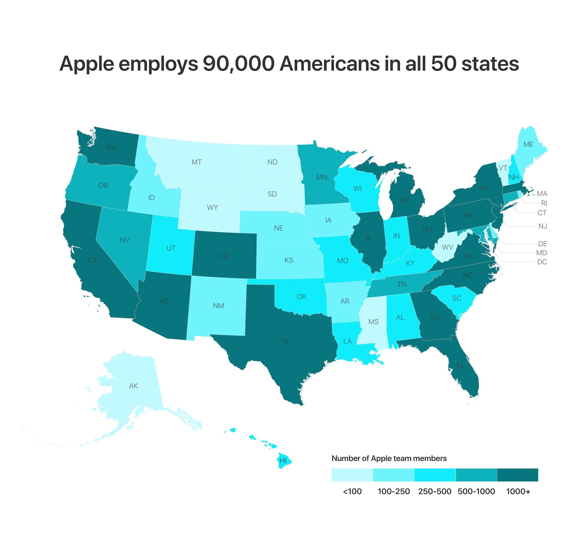 Apple build campus in Austin and US Apple employs 12132018 - Apple stavia nový miliardový kampus v Texase