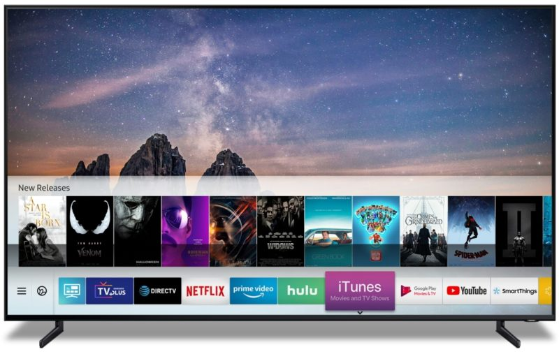 Samsung iTunes TV