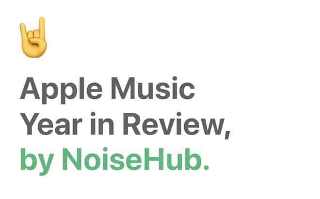 apple music yearinreview - Týždeň v skratke: vysoké očakávania, GarageBand počas rokov a nový iPad mini