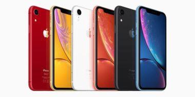 iphone xr1 380x190 - Nový iPhone XR bude mať o 6% väčšiu kapacitu batérie