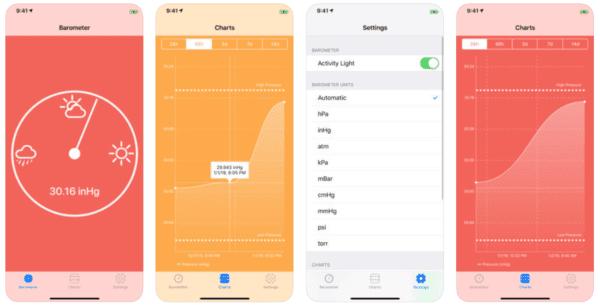 Digital Barometer 600x305 - Zlacnené aplikácie pre iPhone/iPad a Mac #5 týždeň
