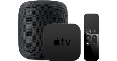 apple tv homepod 380x200 - Gruber: Apple TV sa predáva bez marže, HomePod dokonca pod cenu