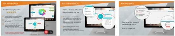 Disk Map Analyzer 2 in 1 Clean Your Hard Drive 600x124 - Zlacnené aplikácie pre iPhone/iPad a Mac #11 týždeň