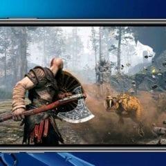 God of War iPhone remoteplay ps4 240x240 - Na PS4 teraz môžete hrať z iPhonu, Sony vydalo iOS verziu Remote Play