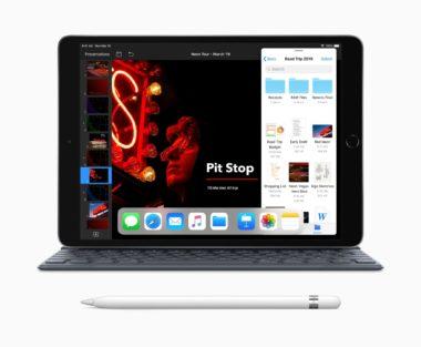 New iPad Air with Smart Keyboard Apple Pencil 03192019 380x313 - iPad dostane vlastný operačný systém, iPadOS