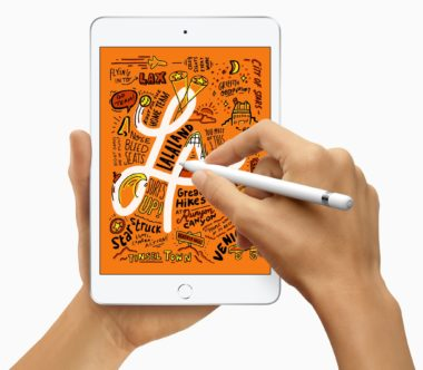 New iPad Mini and supports Apple Pencil 03192019 380x332 - iPad mini ožíva, aj s podporou pre Apple Pencil a rýchlym A12 čipom