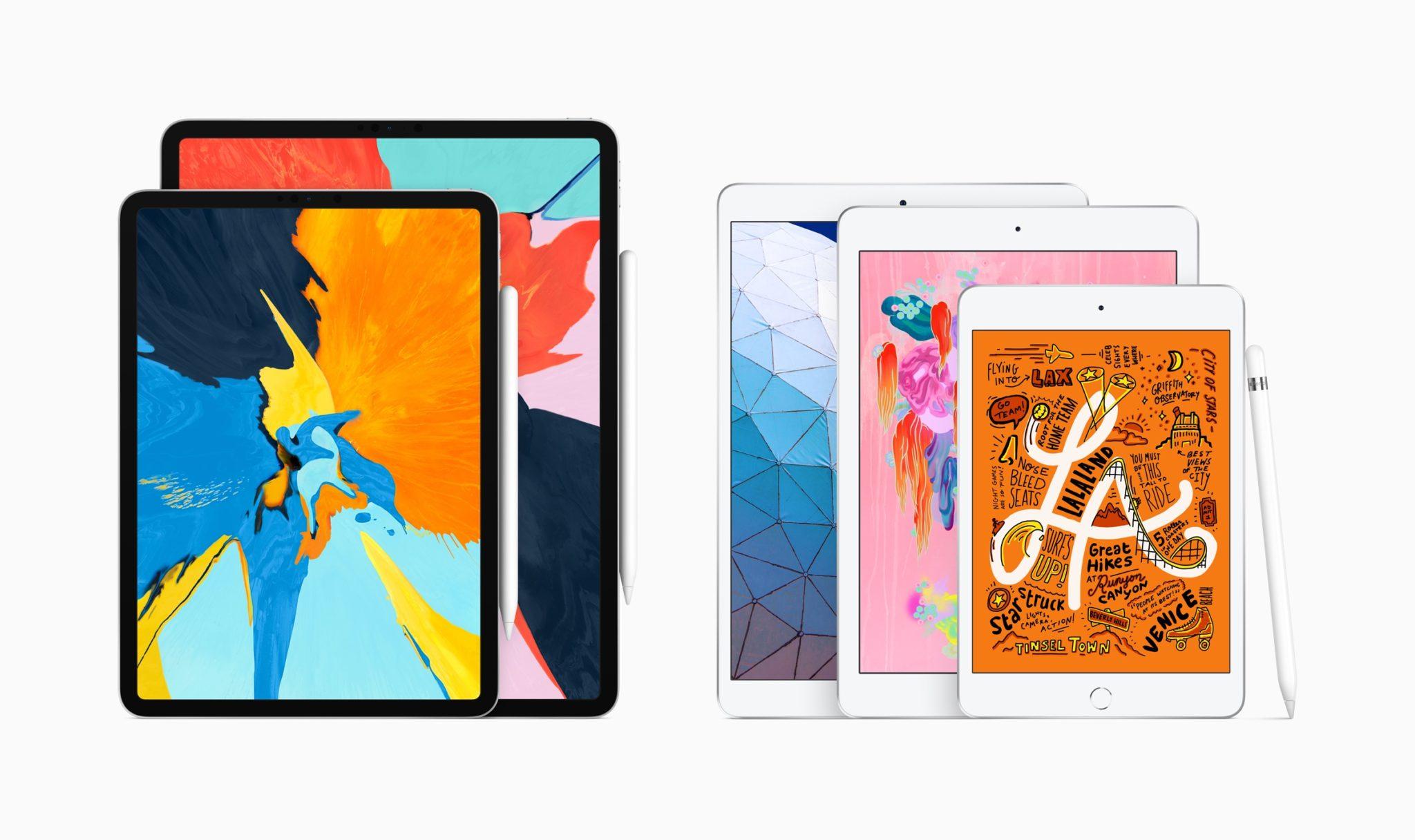 New iPad air and iPad mini with Apple Pencil 03182019 - Týždeň v skratke: nové iPady, rýchlejšie iMacy, AirPods 2 a mnoho ďalšieho