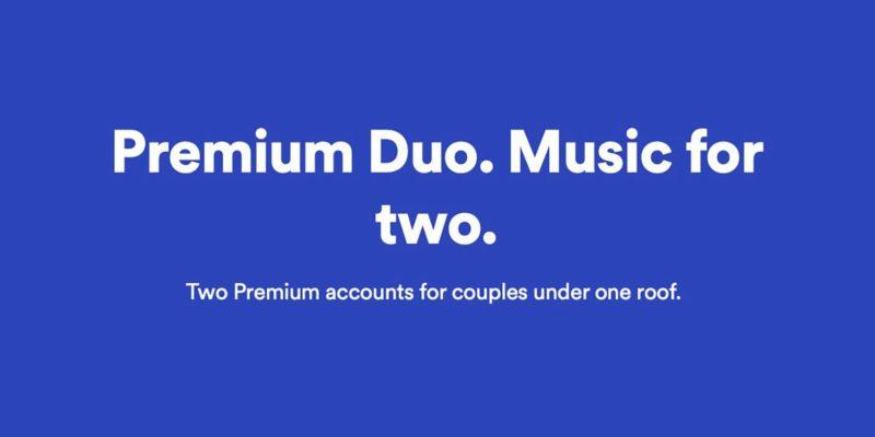 Premium Duo 800x400 - Spotify testuje Premium Duo, predplatné pre páry a spolubývajúcich