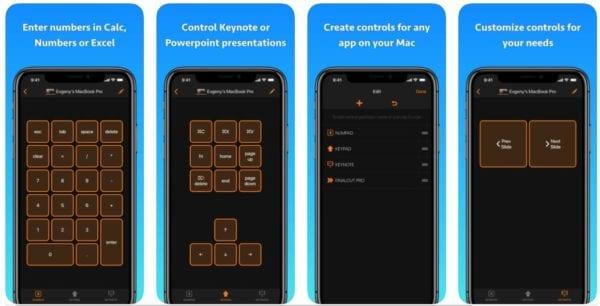 Remote KeyPad for Mac 600x306 - Zlacnené aplikácie pre iPhone/iPad a Mac #12 týždeň