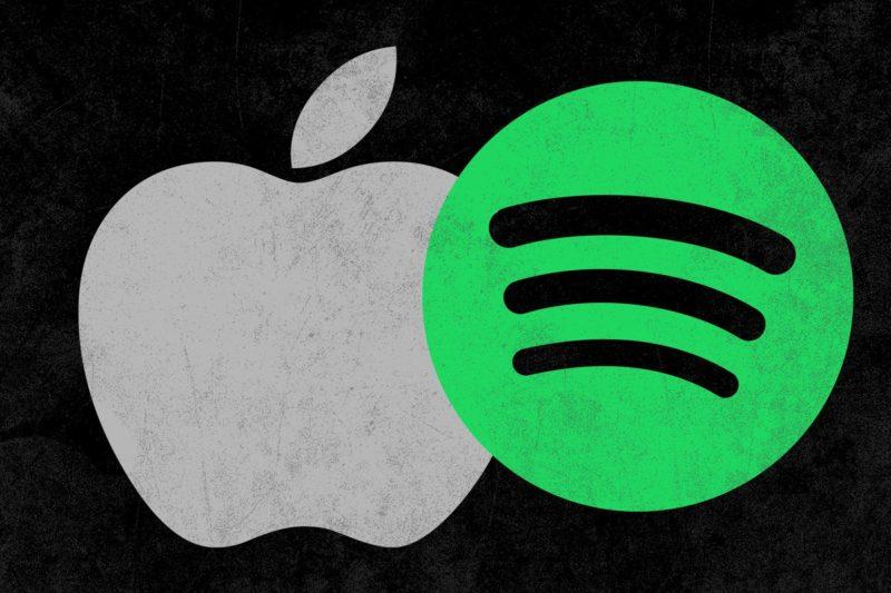 apple spotify logos theringer 800x533 - Apple: Spotify chce všetky benefity App Storu bez toho, aby niečim prispelo