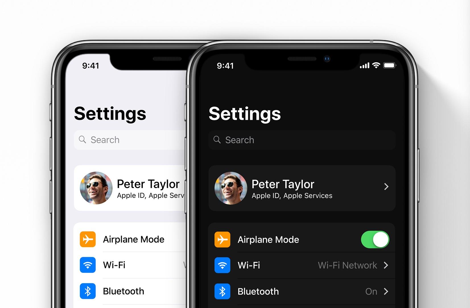 ios 13 concept leo vallet darkmode - Apple vydal štvrtú beta verziu iOS 13 a iPadOS