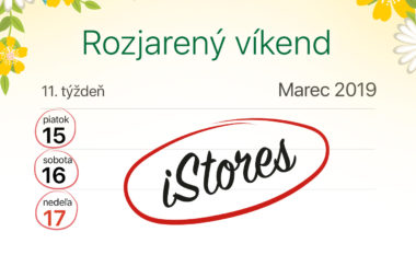 rozjareny vikend istores 380x233 - Rozjarený víkend v iStores: zľavy na vybrané Apple produkty len tento víkend
