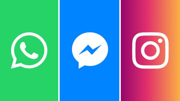 whatsapp messenger instagram integration logos 600x338 - Facebook Messenger bude možno opäť integrovaný do hlavnej aplikácie